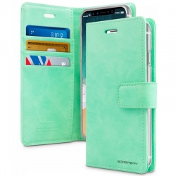iPhone X Case Goospery Bluemoon Diary Case Mint