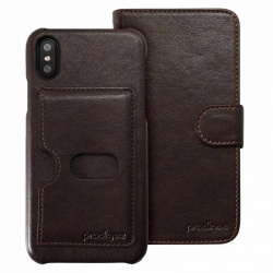 iPhone X Case Prodigee Wallegee  Brown