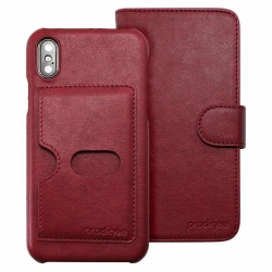 iPhone X Case Prodigee Wallegee  Red