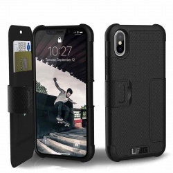 iPhone X UAG Metropolis Feather-Light Case Black