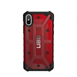 iPhone X Case UAG Plasma Feather-Light Case Magma