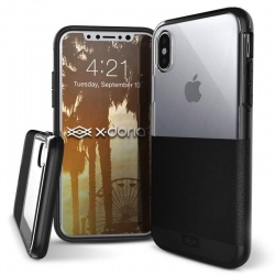 iPhone X Case  Defense Dash Black
