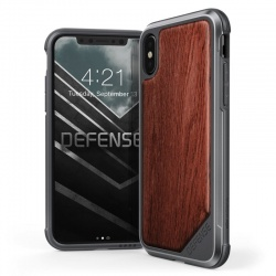 iPhone X Case  Defense LUX Rosegold