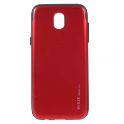 Samsung Galaxy J5(2017)  Sky Slide Bumper Case  Red