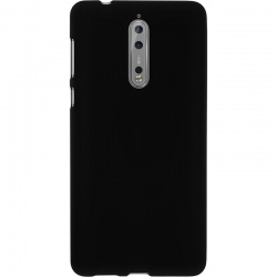 Nokia 8 Silicon Black Case