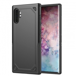 Samsung Galaxy Note 10 Plus Protective Hybrid Shockproof Case | Black