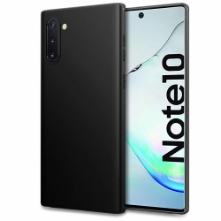 Samsung Galaxy Note 10 Silicon Black Case