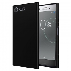 Sony Xperia XZ1  Silicon Black Case