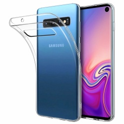 ​Samsung Galaxy S10 Silicon Clear TPU Case