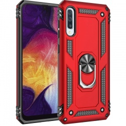 Samsung Galaxy A7 (2018) Case - Red Ring  Armor