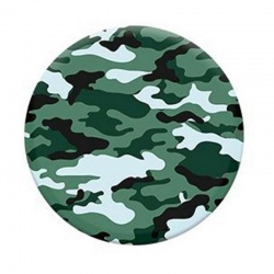 Green Camo Pop Socket