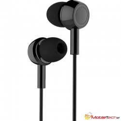 ​USAMS EP-12 Plastic Earplug Plating Small Earphone - Black
