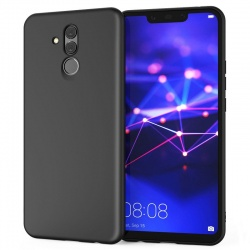 Huawei Mate 20 Lite  Silicon Black Cover