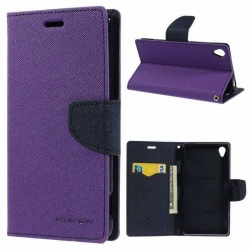 Sony Xperia Z5  Goospery Fancy Diary Case Purple