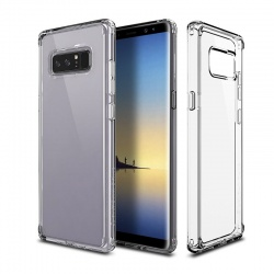Samsung Galaxy Note 8 Patchwork Lumina Series Cover Clear