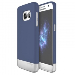 Samsung Galaxy S7  Prodigee Accent Navy Silver