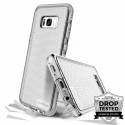 Samsung Galaxy S8 Plus Prodigee Safetee Series Cover Silver