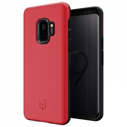 Samsung Galaxy S9 Case Patchwork Level ITG Series Cover Red