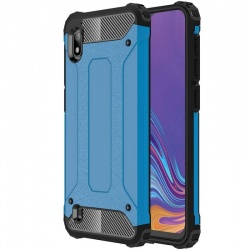 Samsung Galaxy A10 Luxury Armor Cover Blue