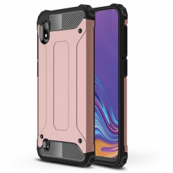 Samsung Galaxy A10 Luxury Armor Cover Rosegold