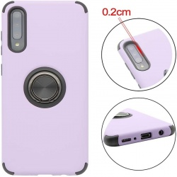 Huawei P Smart 2019  Magnetic Ring Holder Cover Purple