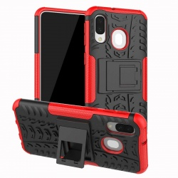 Samsung Galaxy A40 - Tyre Defender Red