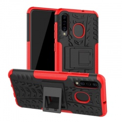 Samsung Galaxy A50 Case - Red Tyre Defender
