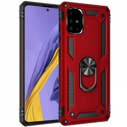 Samsung Galaxy A71 Case - Red Ring Armor