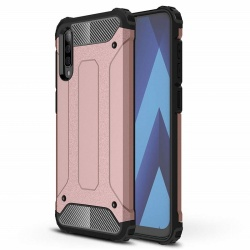 Samsung Galaxy A90 5G Case - Rosegold Luxury Armor