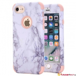 iPhone 7 / iPhone 8 Case Marble Cover RoseGold
