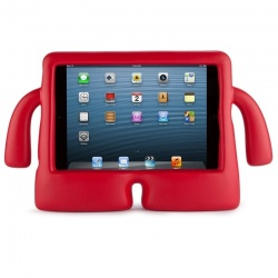 iPad 10.2 Inch 2019 / iPad 10.5 inch Case  for Kids Shock Proof Cover with Carry Handle Red