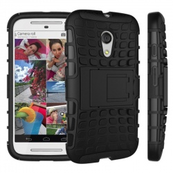 Motorola G2 Tyre Defender Cover Black