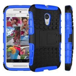 Motorola G2 Tyre Defender Cover Blue