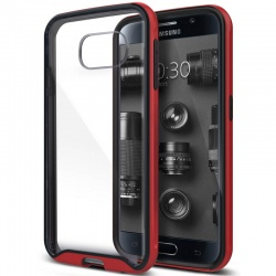 Samsung Galaxy S6 Caseology Waterfall Series Case - Red
