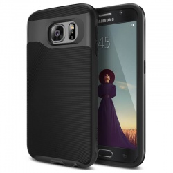 Samsung Galaxy S6 Caseology Wavelengh Series Case - Black/Black
