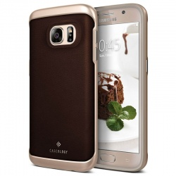 Samsung Galaxy S7 Envoy Series Case - Leather Brown