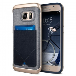 Samsung Galaxy S7 Messenger Series Case - Navy Blue