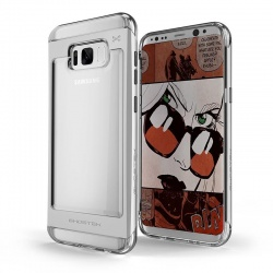 Samsung Galaxy S8  Plus Ghostek Cloak 2 Series Case Silver