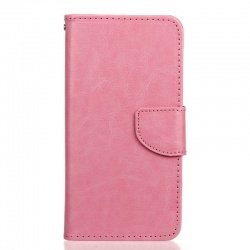 HTC 650 PU Leather Wallet Case BabyPink