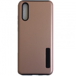 Huawei P20 Dual Layer Protective Cover RoseGold