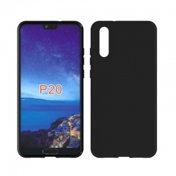 Huawei P20 Silicon Black Cover