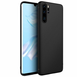Huawei P30 Pro Case - Silicone Black