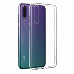 Huawei P30 Case - Silicone Clear