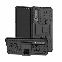 Huawei P30 Case - Black Tyre Defender