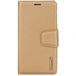 Huawei Y6 2019 Hanman Wallet Case Gold