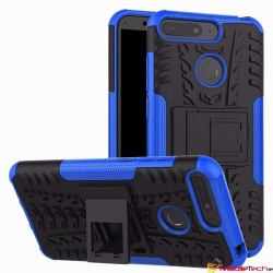 Huawei Y6(2018) Tyre Defender Cover Blue