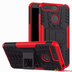 Huawei Y6(2018) Tyre Defender Cover Red