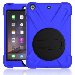 Apple IPad Mini 1 2 3 Pirate King Dust/Shock Proof Cover Stand Holder Case Blue