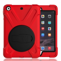 Apple IPad Mini 1 2 3 Pirate King Dust/Shock Proof Cover Stand Holder Case Red
