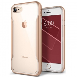 iPhone 7 / iPhone 8 Case Caseology Apex Series Clear- Gold
